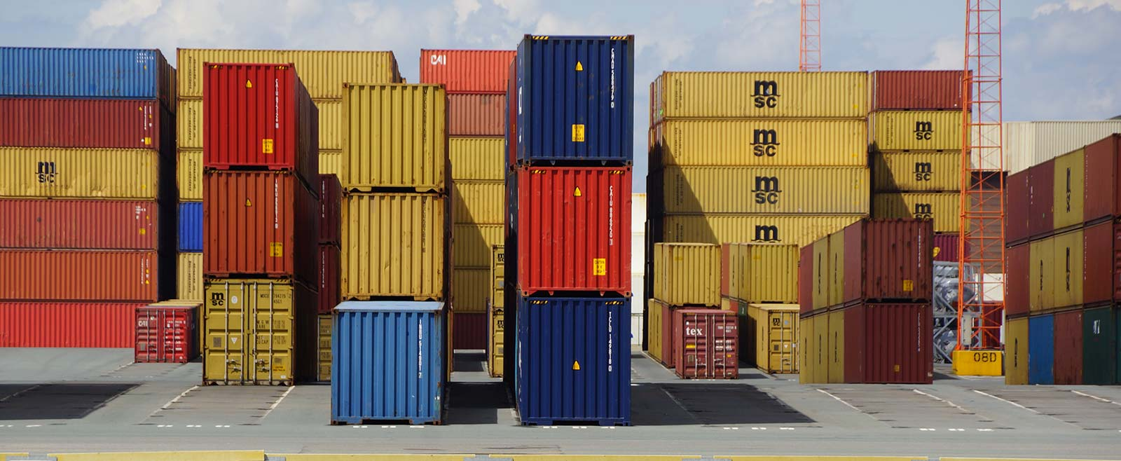 Freight and cargo shipping containers